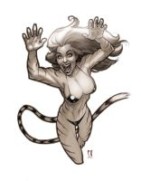 Tigra commission by StephaneRoux