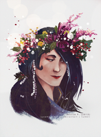 Flower Crown Varda by sycamoreleaf