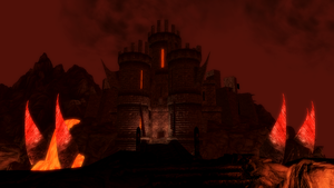 Daedric Fortress by NeonBlacklightTH
