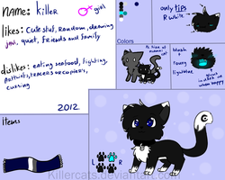 Killer's 2012 Ref by killercats