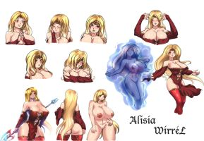 Alisia Wirrel - concept by RedHotWhiteHeat