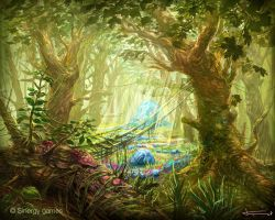 Fairy woods by bocho