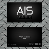 AIS Intallers Card by rogaziano
