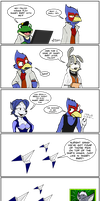 It's a game, Falco! Not you! by AaronsArtStuff