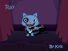 Ray_play_guitar by Lanathewolf