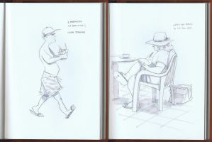 Cuba Sketches - Part 7 by Zubby