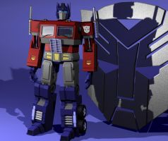 G1 Optimus Prime by The-Solidstrike
