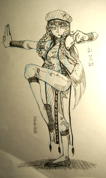 Hong Meiling -20151020 by PrisonDevil-san