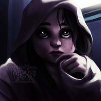 Hooded girl by Nasuki100