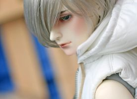 side view of a boy by anavel