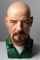 HEISENBERG painted bust by CG-imagery