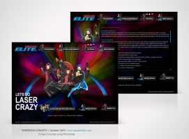 Webdesign for Quasar Elite by Amita-Gandhi