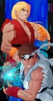 Street Fighter Alpha Collab by privodanima