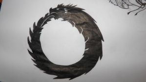 :Traditional: Ouroboros by Randern