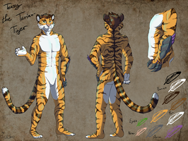 Teasy refsheet commission by StanHoneyThief