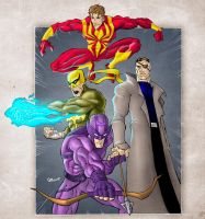 Marvel Superheroes by GavinMichelli
