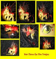 Star Flame the Fire Dragon by PrincessAmalthea
