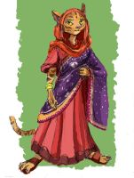 Indira Singh Sandhu by TheLivingShadow