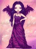 Violet Angel by jasminetoad
