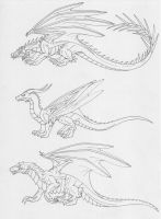 More HP Dragons by Scatha-the-Worm