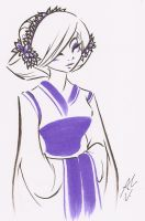 THE COLOR OF THE PURPLE GEISHA by WhiteFox89