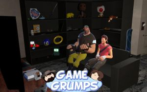 Garry's Mod - GAME GRUMPS by KristianTheTiragon