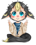 Zander [Chibi Commission by BunnyDynamics