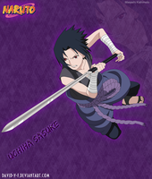 Sasuke Uchiha in Nukenin by David-Y-F