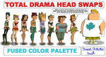 HS total drama fused color palette by Insert-artistic-nick