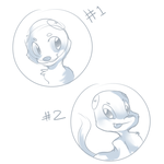 YCH Auction - Character Headshots [OPEN] by Nestly