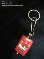 Pocky Box Keychain by shadowqueen16