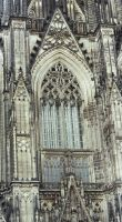 Cathedral of Cologne I by Ampata