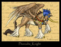 Pharoah's Knight by PookaWitch
