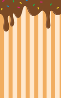 Dripping Chocolate Custom Box Background by renekotte