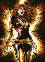 Dark Phoenix by funrama
