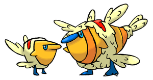 Feather Thiefs by Smiley-Fakemon