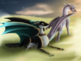 Gift - Raccun - Way To Early In The Morning by Eiswolf-Zero