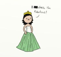 .Bootiful Princess. by bababug
