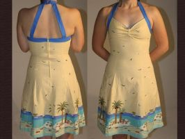 Yellow Retro Sundress by TransparentDream
