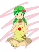Human Apple Fritter by Maiximillion3564