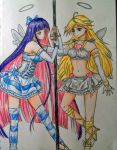 Panty and Stocking by dead-kittens3