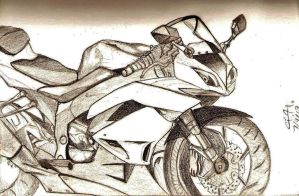 Kawasaki Sketch by BlueFire795