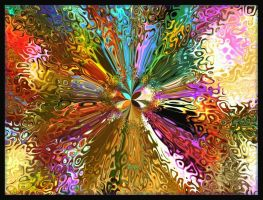 Psychedelic Flower by heyday93