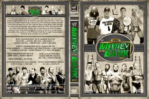 WWE Money in the Bank 2013 DVD Cover V2 by Chirantha