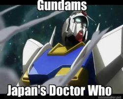 Gundam/Doctor Who Meme by Turbofurby
