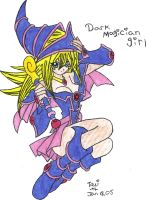 Dark Magician Girl by DarkMagicianCatGirl