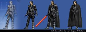 Darth Caedus by voeten