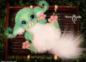 Baby Elfi by Flicker-Dolls
