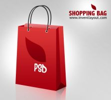 Shopping Bag Icon - inventlayout.com by atifarshad