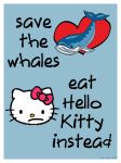 Save the Whales ... by littleredplanet